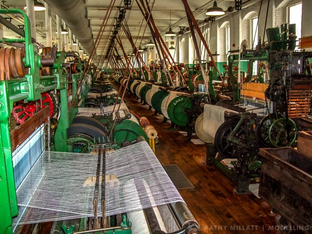 Textile Looms, Lowell, USA