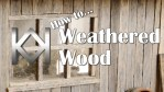 How to Model Weathered Wood