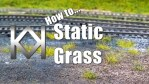 How to... static grass tufts