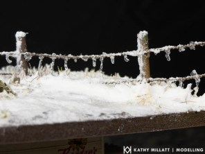 Noch Icicles and Snow Paste or Snow Paste, Snow Glue and Snowflakes