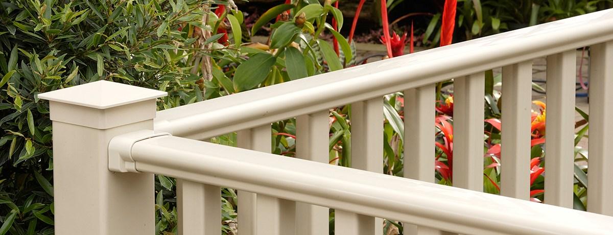 Kingston Vinyl Railing Systems Certainteed   Vinyl Railing For Steps   Aluminum   Veranda   Hand   Square   Traditional