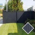 Ornamental Fence Privacy Slats Louvers Sample Privacy Slat King