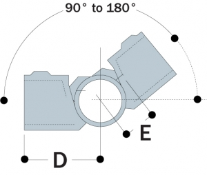 19 - Adjustable Side Outlet Tee