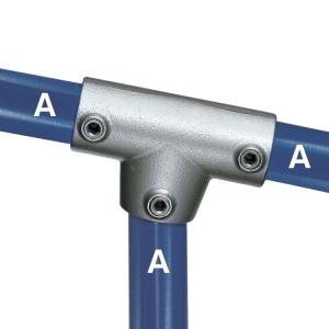 88 - Three Socket Angle Tee
