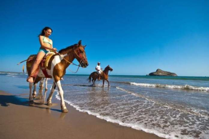 Image result for horseback riding isla de la piedra