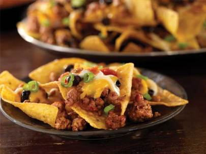 Perfect Day Pork and Black Bean Nachos