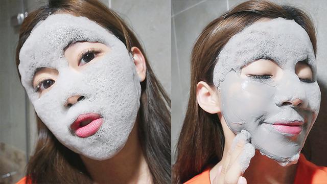 【小貴婦的精緻保養】灰熊厲害泡泡面膜 - JS 婕洛妮絲 JEALOUSNESS 美妝保養