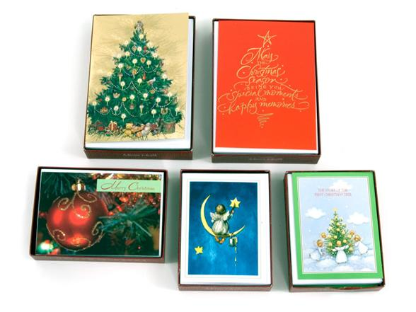 Box Of 15 Marian Heath Christmas Cards Random 5 Pack Woot