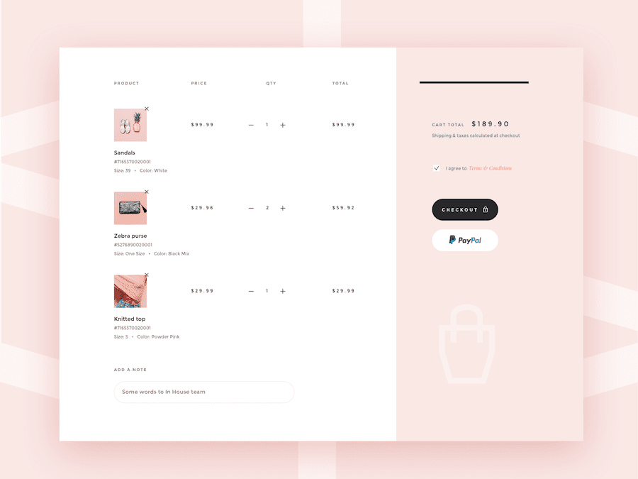 It works for all types of websites, and it helps designers focus. 20 Best Creative Shopping Cart Designs For Your Inspiration In 2019