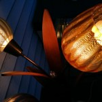 Danish Mid Century Teak Tulip Lamp Collectors Weekly