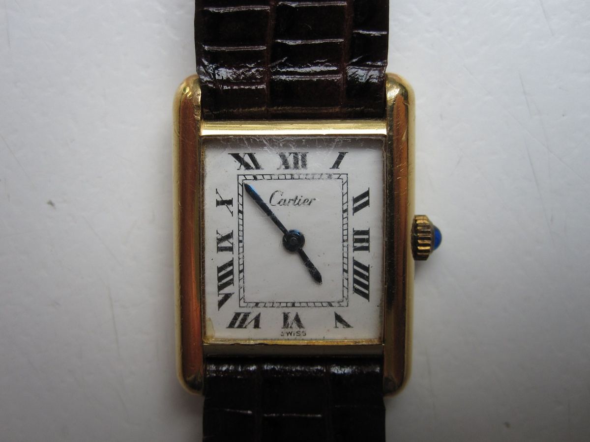 My 1970s Cartier Tank Watch   Collectors Weekly