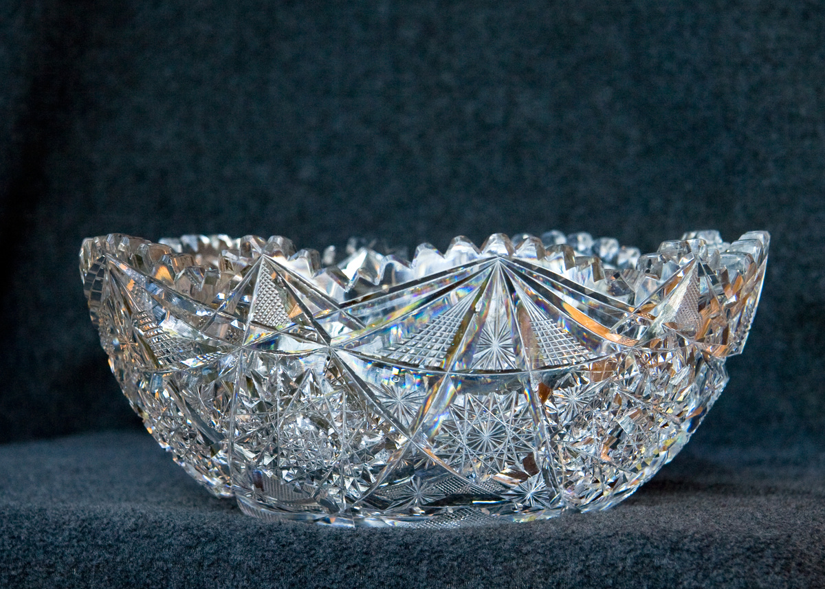 Cut Glass Bowls Collectors Weekly