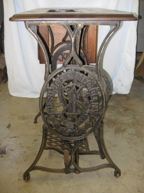 1879 Singer Sewing Machine Table Collectors Weekly