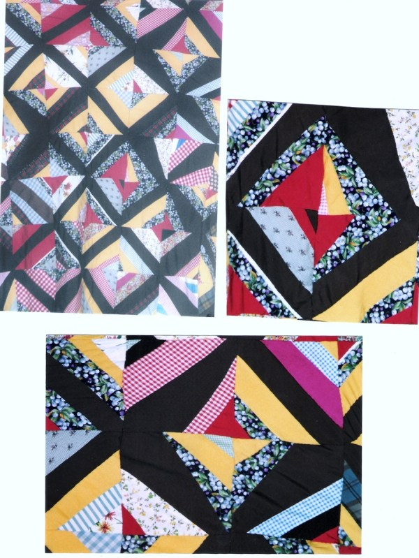 Queen of Strings in African American M-provisational Quilt ...