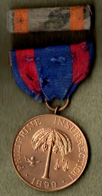 Spanish American War And Philippine Campaign Medals