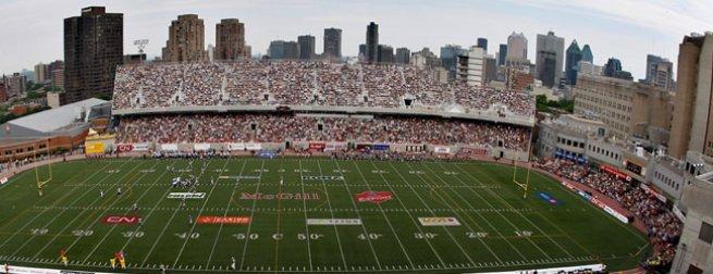 Mcgill Stadium A New Era Montreal Alouettes