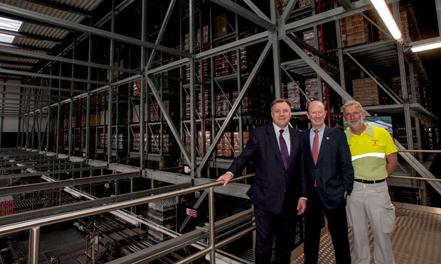 Coca Cola Officially Unveils 30m Wakefield Warehouse Facility