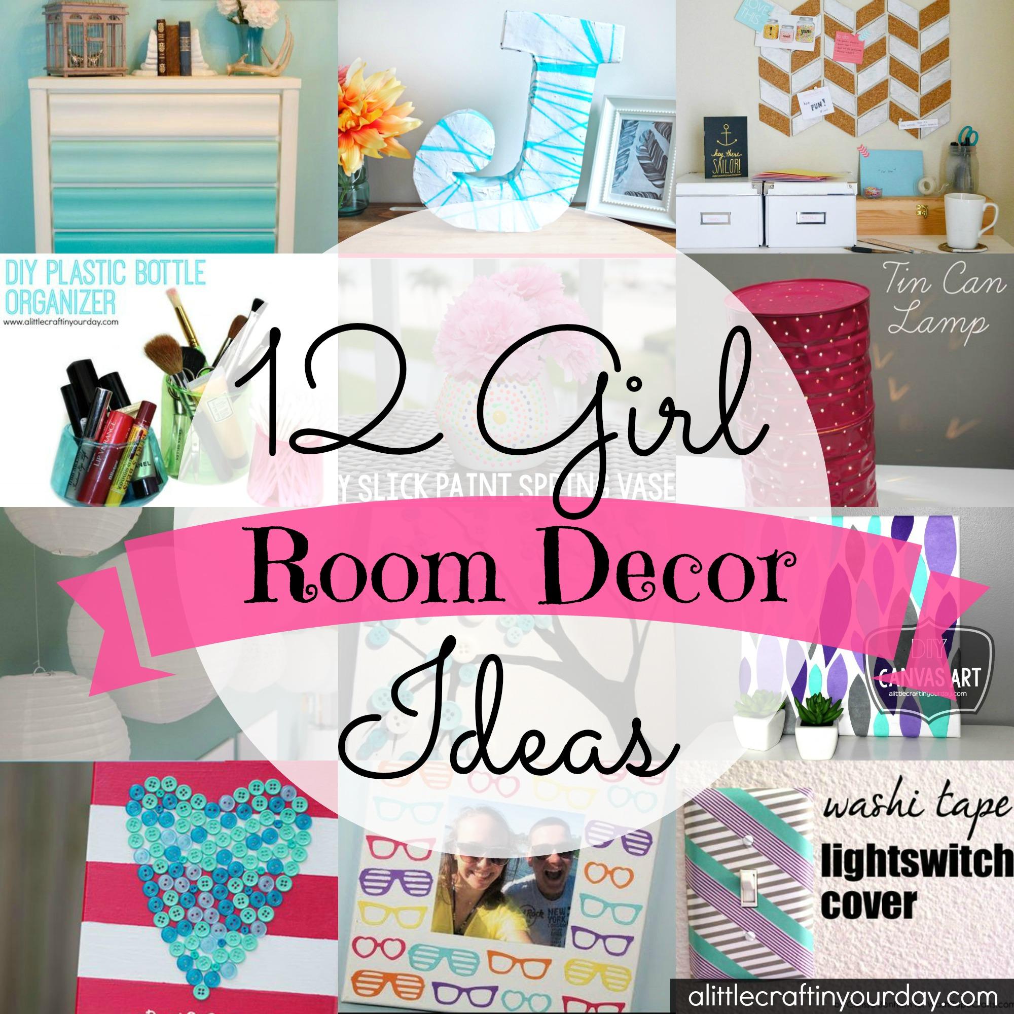 Girl Room Decor Ideas on Room Decoration Girl  id=39763