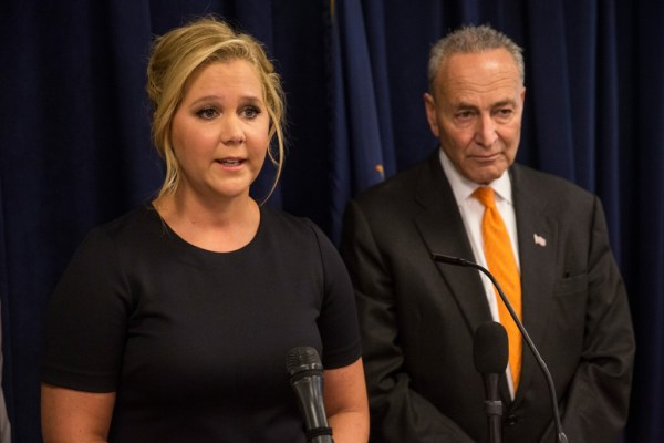 Chuck Schumer gets his famous cousin Amy Schumer to help ...