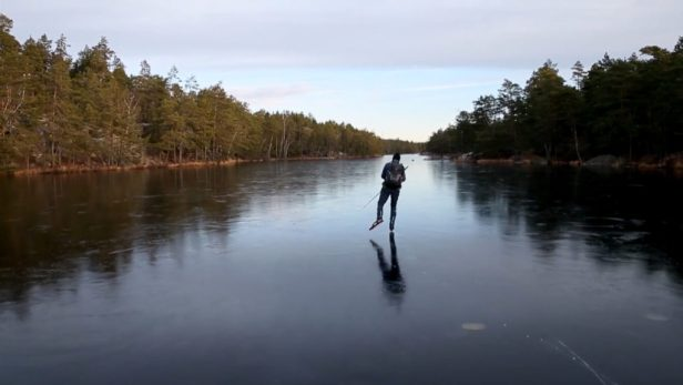 The magic (and math) of skating on thin ice without falling in | PBS NewsHour