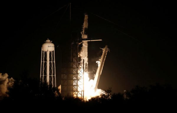 America's newest crew capsule rockets toward space station ...