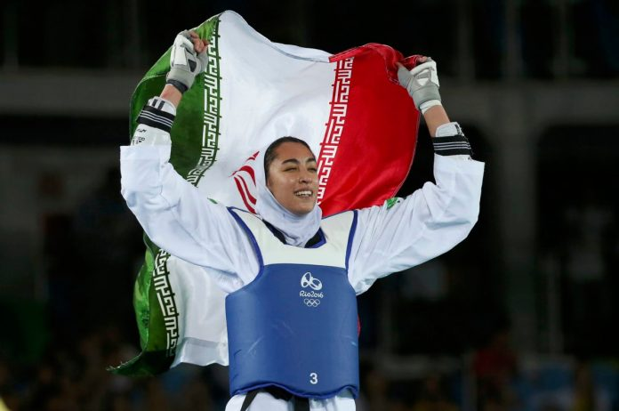 Iran's only female Olympic medalist reportedly defects | PBS NewsHour  Weekend