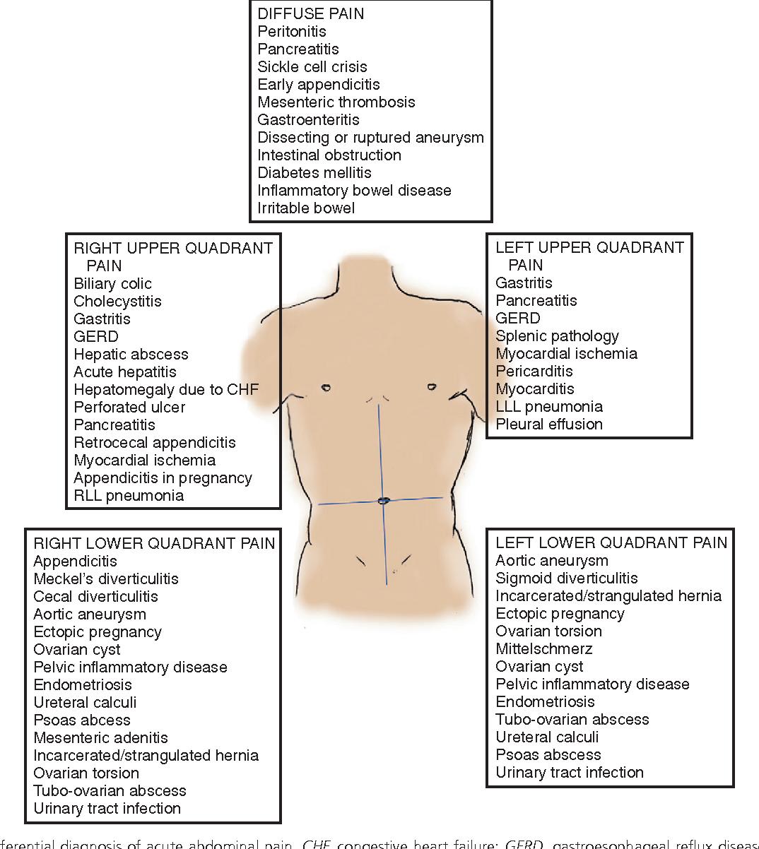 Figure 27 1 From Extra Abdominopelvic Causes Of Abdominal