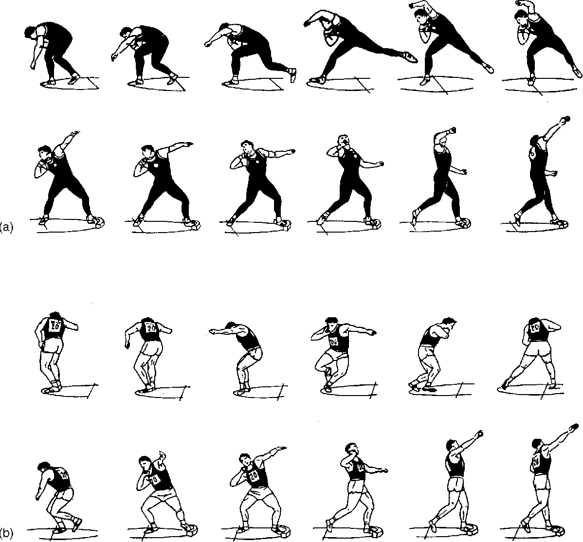 Figure 7 From Optimum Release Angle In The Shot Put