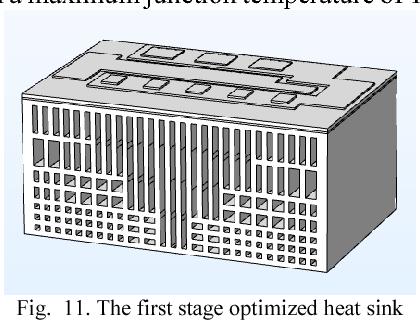 3d printed air cooled heat sinks based