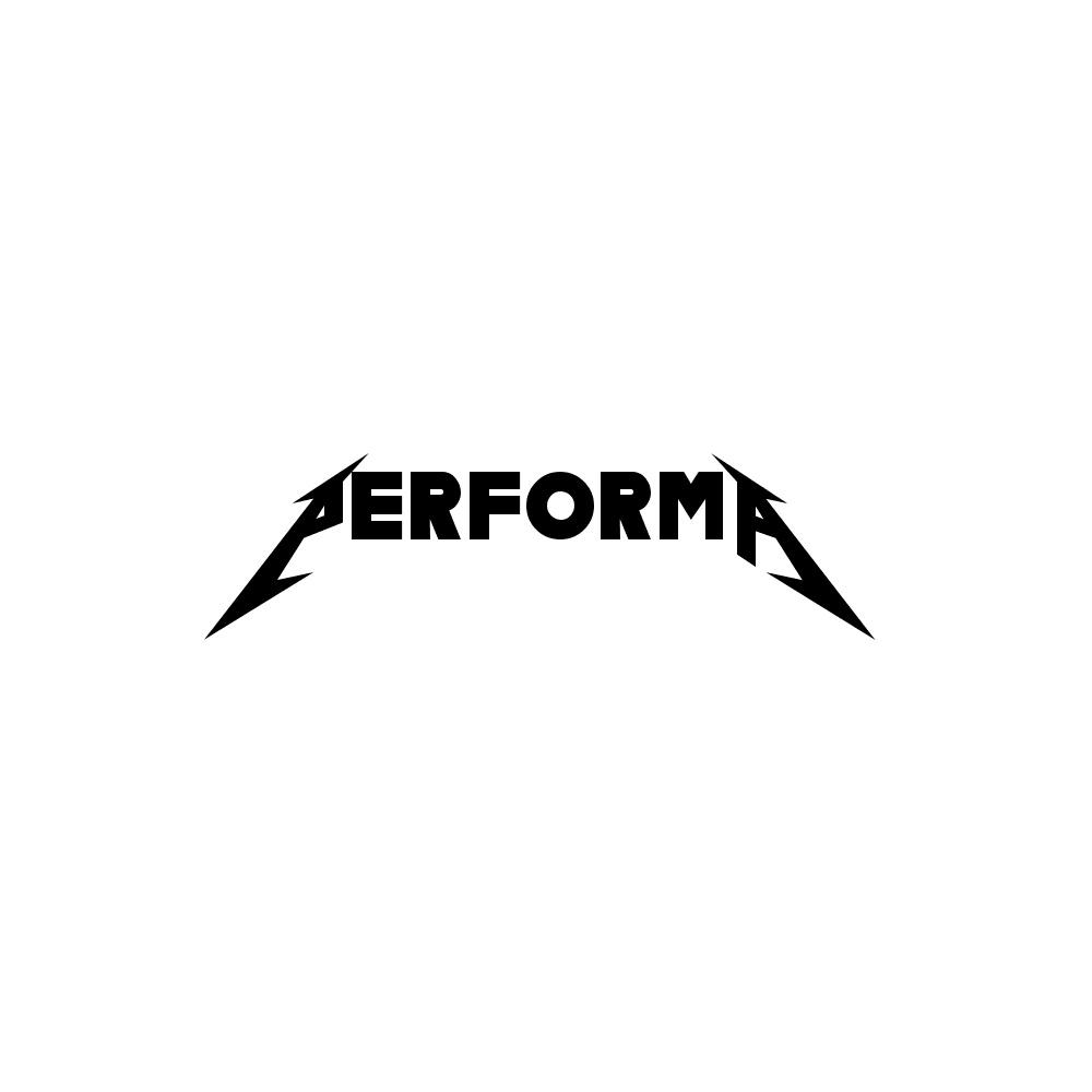 Metallica ロゴジェネレーター Performa