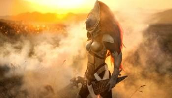 This incredible Warhammer 40K cosplay of Saint Celestine