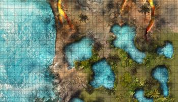 Quickly re-draw the fantasy map for your RPG: Wonderdraft adds magic