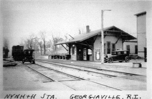 Former Railroad Stations in Smithfield | Town of ...