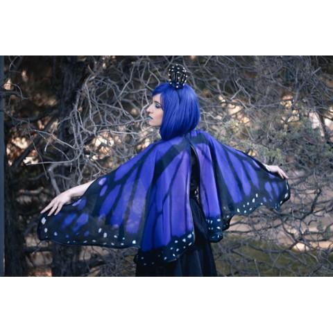 【Costurero Real】蝶の羽ケープ(ブルー)