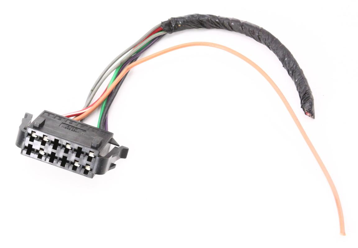 Central Locking Vacuum Pump Wiring Plug Pigtail 00 02 Vw