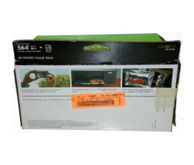 Hp Photosmart Value Pack 564 Custom Series Cartridges Surplus Trading Corporation