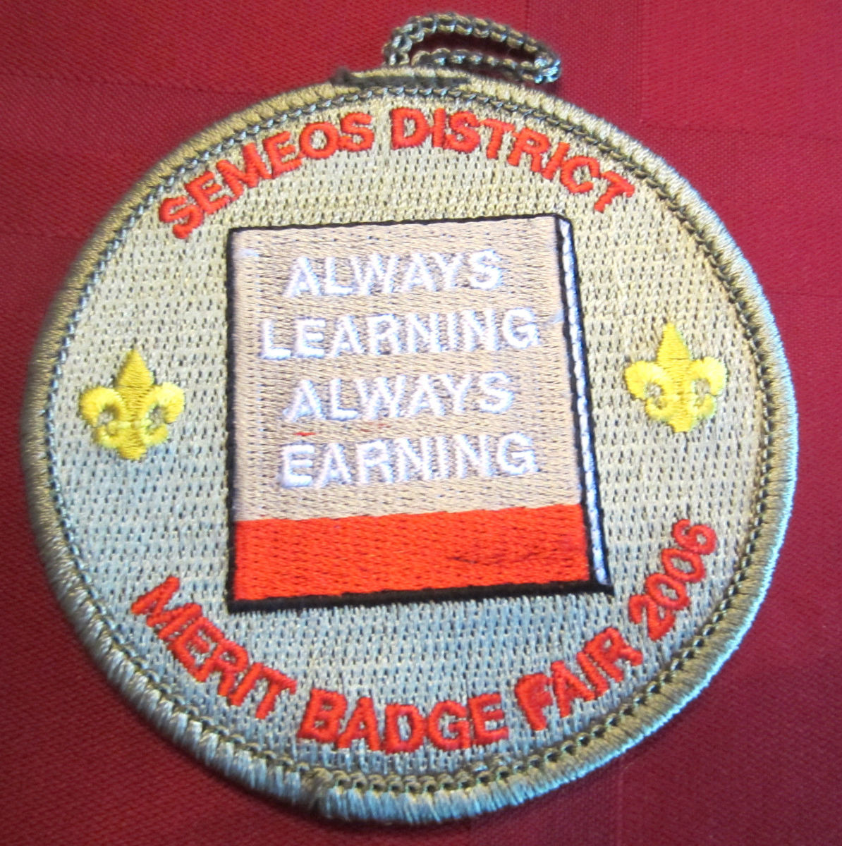 Bsa Boy Scout Uniform Patch Bsa Semeos Always Learning