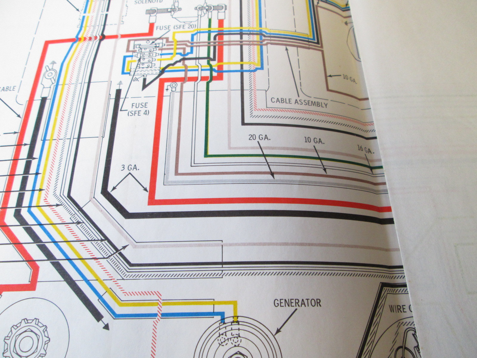 [WRG-5461] 115 Yamaha Outboard Gauge Wiring Diagram Free
