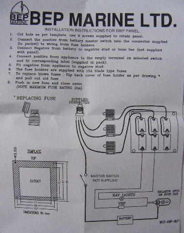 marinco wiring diagram switch panel  2010 hhr engine