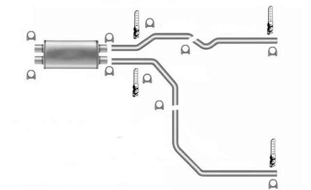 exhaust systems automotive 8 1l mandrel