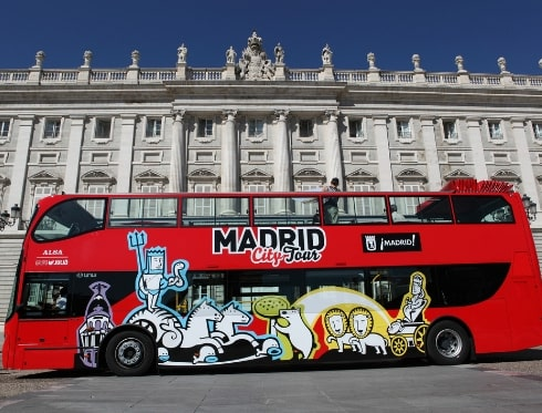 Madrid Bus Tour Madrid City Tour