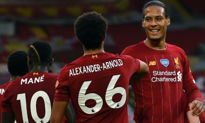 Liverpool win first Premier league title