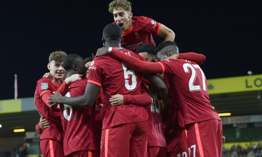 Match report: Reds beat Norwich 3-0 in Carabao Cup - Liverpool FC