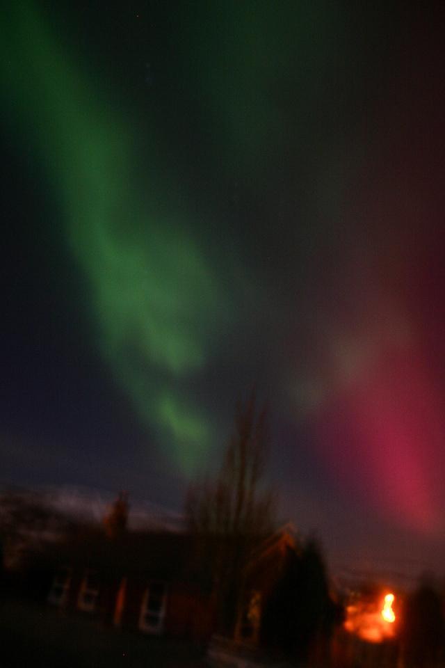 My first aurora (backblip)