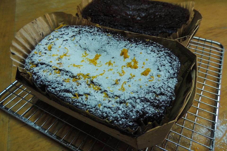 Chocolate Orange Storecupboard Cake