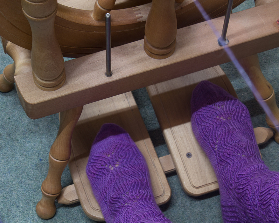 365:26 Playing footsie