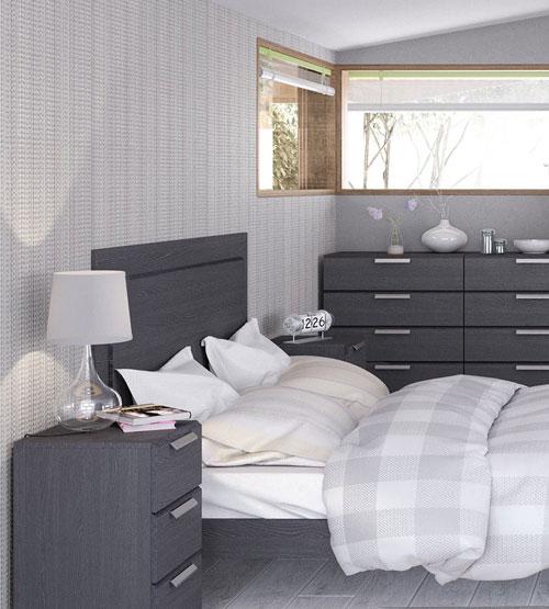 Waterfall Graphite Bedroom Furniture 99 379 Bedroom