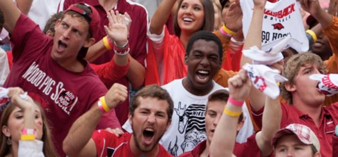 Arkansas fans