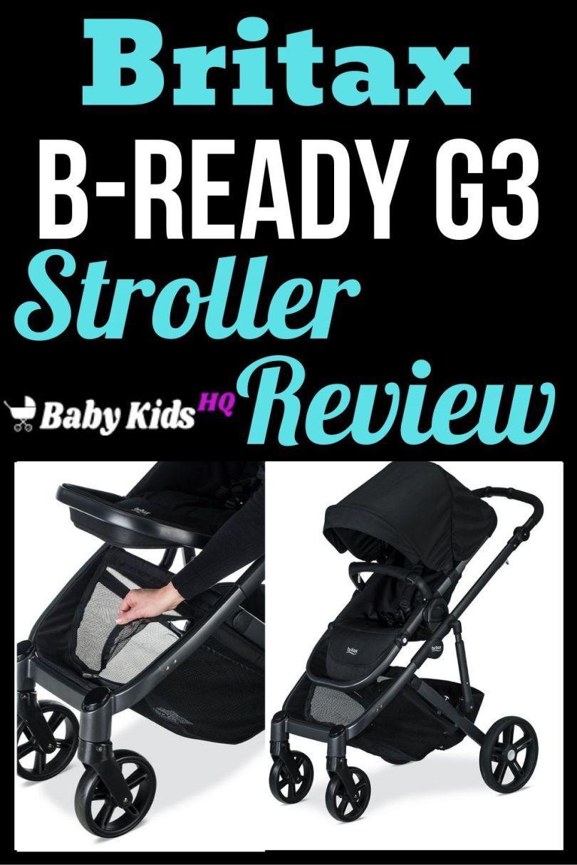Britax B-Ready G3 Stroller Review