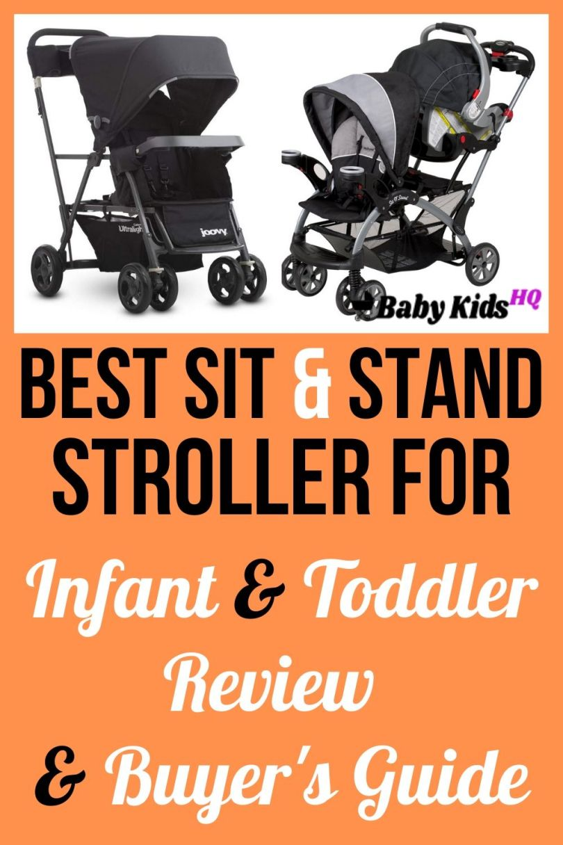 Best Sit And Stand Stroller For Infant And Toddler 1